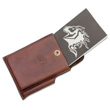 Rick Hinderer Knives Notebook/Investigator Case Brown Leather Set