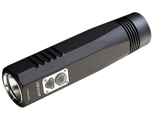 JETBeam BR10GT Rechargeable Aluminum LED Flashlight 1x18650, 900 Max Lumens
