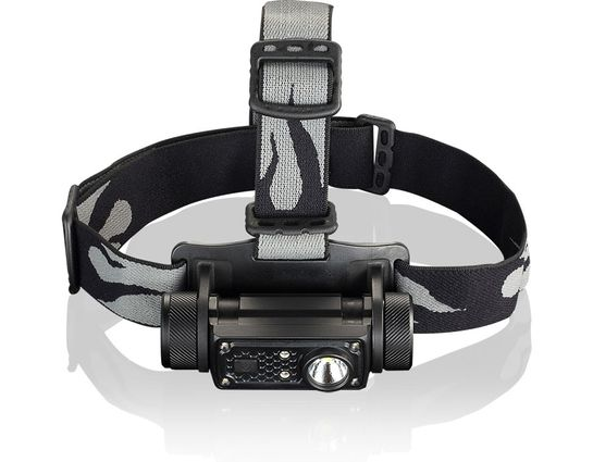 JETBeam HR30 Rechargeable Aluminum LED Headlamp 1x18650, 950 Max Lumens