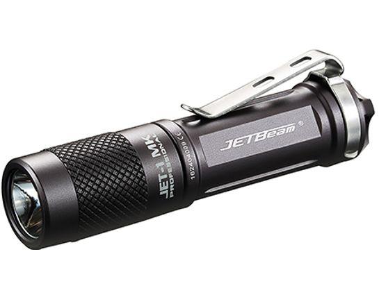 JETBeam JET-1 MK Aluminum LED Flashlight1 x AA, 480 Max Lumens