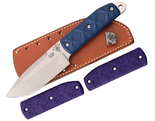 KA-BAR 5102 KBD Master Series Snody  inchBig Boss inch Fixed 4.5 inch S35VN Blade, Zytel Handle, JRE Leather Sheath