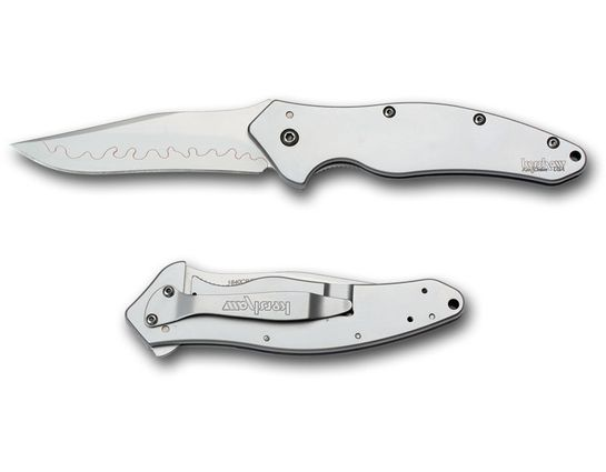 Kershaw Shallot Assisted Opening Folder 3.5 inch Composite 14CZN/ZDP189 Steel Blade
