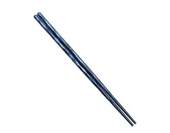 Kizer Cutlery T309A2 Blue Ti-Chop Titanium Chopsticks, 8.58 inch Overall