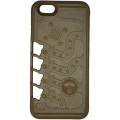 Klecker Stowaway Tool Carrier iPhone 6/6S Case, Mechanical, Brown