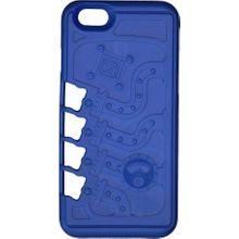Klecker Stowaway Tool Carrier iPhone 6/6S Case, Mechanical, Blue