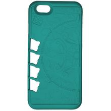 Klecker Stowaway Tool Carrier iPhone 7 Case, Organic, Teal