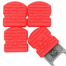Klecker Stowaway Tool Caps, Coral, Pack of 6