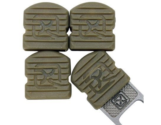 Klecker Stowaway Tool Caps, Pudding Brown, Pack of 6