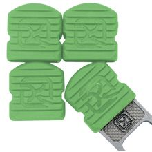 Klecker Stowaway Tool Caps, Green, Pack of 6