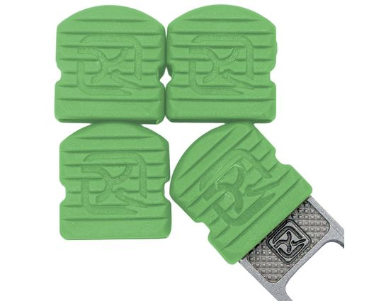 Klecker Stowaway Tool Caps, Green, Pack of 6