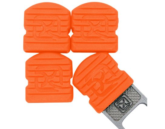 Klecker Stowaway Tool Caps, Orange, Pack of 6