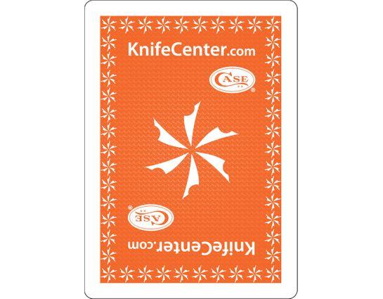 KnifeCenter/Case Gemaco Playing Cards, Orange