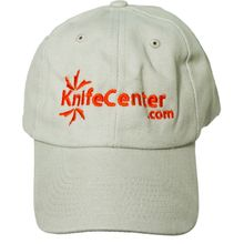 KnifeCenter.com Heavy Brushed Cotton Cap/Hat, Beige