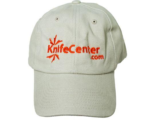 KnifeCenter.com Heavy Brushed Cotton Cap/Hat, Beige