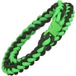 Knotty Boys Zombie Green Paracord Necklace