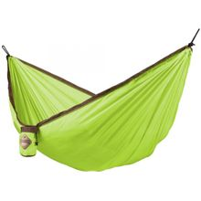 La Siesta Colibri Single Travel Hammock, Parachute Silk, Green