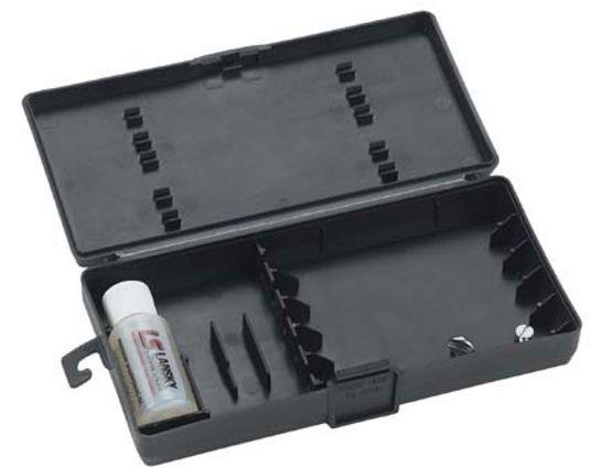 Lansky Custom Carrying Case with 1 oz. Sharpening Oil Bottle