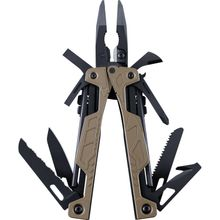 Leatherman OHT Heavy-Duty Multi-Tool, Tan, Black MOLLE-USA Sheath (Berry Compliant)