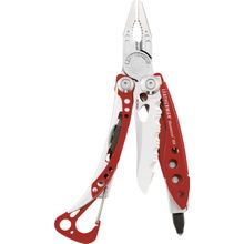 Leatherman Skeletool RX Pocket-Size Rescue Multi-Tool, Red, No Sheath