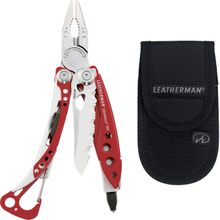 Leatherman Skeletool RX Pocket-Size Rescue Multi-Tool, Red, Standard Nylon Sheath
