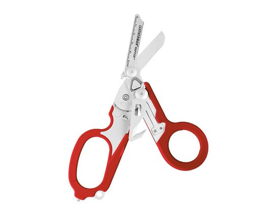 Leatherman Raptor Medical Shears Full-Size Multi-Tool, Red, MOLLE Holster