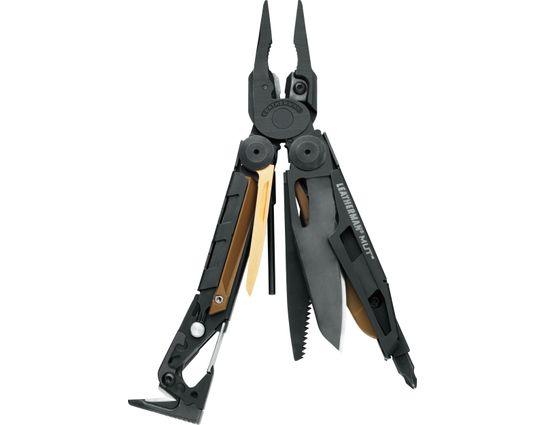 Leatherman MUT Heavy-Duty Multi-Tool, Black Oxide, Black MOLLE Sheath