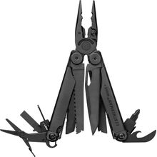 Leatherman Wave Plus Full-Size Multi-Tool with Cap Crimper, Black, Black Nylon Sheath