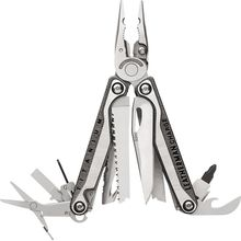 Leatherman Charge Plus TTi Full-Size Multi-Tool, S30V Blade, Black, Black Nylon Sheath