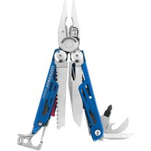Leatherman Signal Full-Size Multi-Tool, Cobalt, Nylon Sheath, Safety Whistle, Ferrocerium Rod and Diamond Sharpener