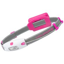 LED Lenser 880216 NEO H4 Full-Size LED Headlamp, 90 Max Lumens, Pink