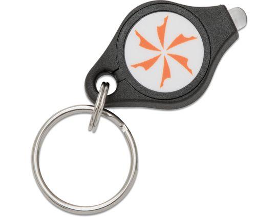 Photon Micro-Light I Keychain Flashlight, Orange LED, KnifeCenter Logo