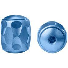 LionSteel TiP Titanium Lanyard Bead, Blue