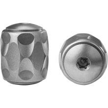 LionSteel TiP Titanium Lanyard Bead, Gray