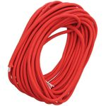 Live Fire Gear 550 FireCord Paracord, Solid Red, 25 Feet