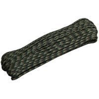 550 Paracord, Woodland Camo, 100 Feet