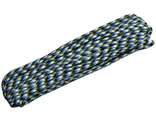 550 Paracord, Blue Snake, 100 Feet