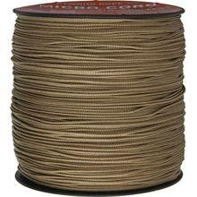 550 Micro Cord, Tan, Nylon Braided, 1,000 Feet x 1.18 mm