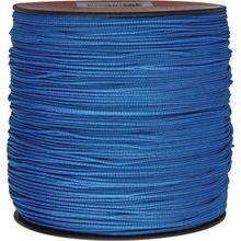 550 Micro Cord, Blue, Nylon Braided, 1,000 Feet x 1.18 mm