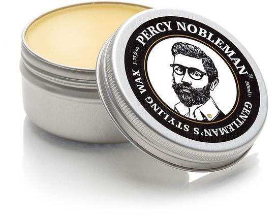 Percy Nobleman Gentleman's Styling Wax, 50ml Tin