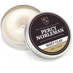 Percy Nobleman Matt Clay Hair Wax, 100ml Tin