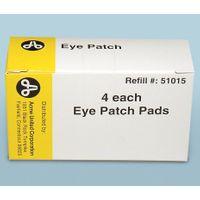 PhysiciansCare Brand 2 inch x 3 inch Eye Patch w/tape strips, 4/box