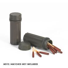 NDūR Waterproof Match Tube Holder (for Fire Starters), Two Pack