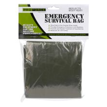 NDūR Emergency Survival Bag - Olive Drab / Silver - 144 Per Case