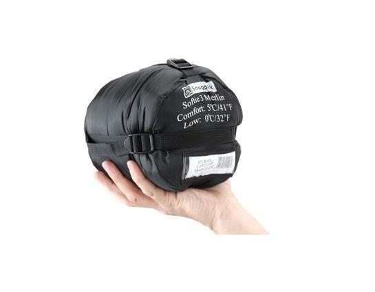 Snugpak Softie 3 Merlin Black Right Hand Zip