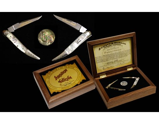 Schatt & Morgan 2006-2007 President's Choice  Edition Limited in Presentation Box