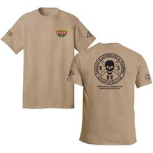 ESEE Knives Brown Training T-Shirt, Short Sleeve, 2XL