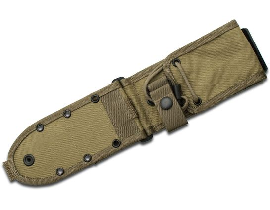 ESEE Knives ESEE-52-MB-K MOLLE Back Sheath for ESEE-5, ESEE-6, Laser Strike, Khaki