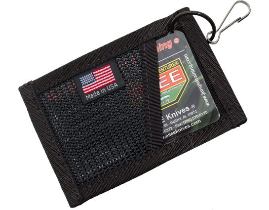 ESEE Cordura Card Holder, Black