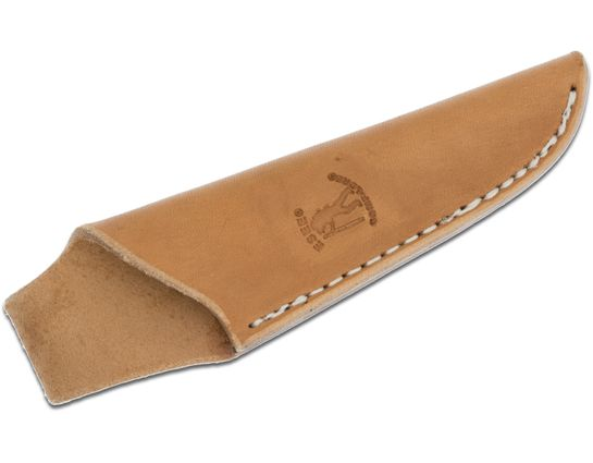 ESEE Knives Camp-Lore Cody Rowen CR2.5 Leather Sheath, Tan, Embossed Logo, Right-Handed