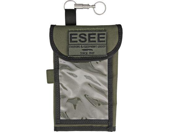 ESEE Izula Gear OD Green Cordura Map Case